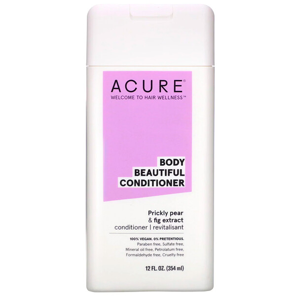 Acure, Body Beautiful Conditioner, Prickly Pear & Fig Extract, 12 fl oz (354 ml) (Discontinued Item)