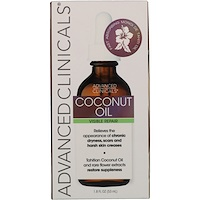 Coconut Oil, 1.8 fl oz (53 ml) - фото