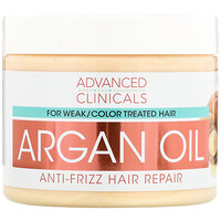 Argan Oil, Anti-Frizz Hair Repair, 12 fl oz (355 ml) - фото