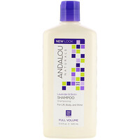Shampoo, Full Volume, For Lift, Body, and Shine, Lavender & Biotin, 11.5 fl oz (340 ml) - фото