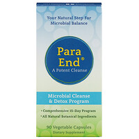 ParaEnd, A Potent Cleanse, 90 Vegetable Capsules - фото