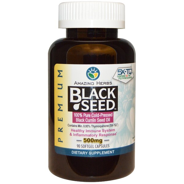 Black Seed, 500мг, 90гелевых капсул