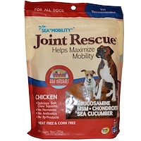 Sea Mobility, Joint Rescue, Chicken Jerky, 9 oz (255 g) - фото