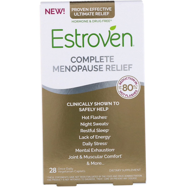 Complete Menopause Relief, 28 Once Daily Vegetarian Caplets