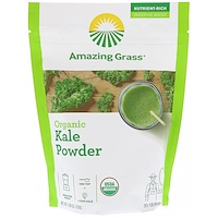 Organic Kale Powder, 5.29oz (150g) - фото