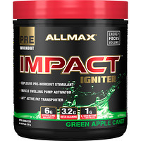 Impact Igniter Pre-Workout, Green Apple Candy, 11.6 oz (328 g) - фото
