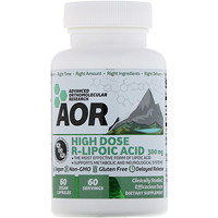 High Dose R-Lipoic Acid, 300 mg, 60 Vegan Capsules - фото