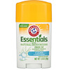 Arm & Hammer, Essentials, дезодорант, с натуральными дезодорирующими компонентами, очищающий, 28 г (1,0 унции)