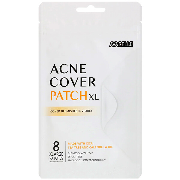 Acne Cover Patch XL, 8 XLarge Patches
