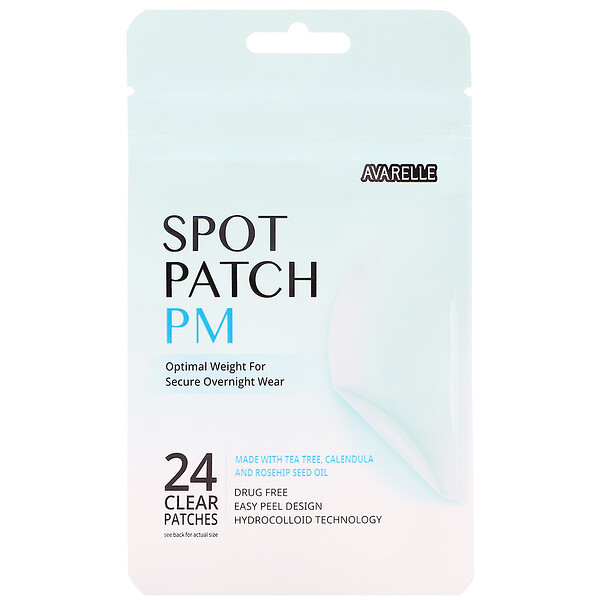 Spot Patch PM, 24 Clear Patches
