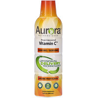 Mega-Liposomal Vitamin C, Organic Fruit Flavor, 3,000 mg, 16 fl oz (480 ml) - фото