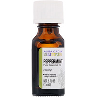 Pure Essential Oil, Peppermint, .5 fl oz (15 ml) - фото