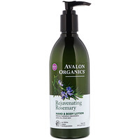 Hand & Body Lotion, Rejuvenating Rosemary, 12 oz (340 g) - фото