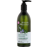 Glycerin Hand Soap, Rejuvenating Rosemary, 12 fl oz (355 ml) - фото