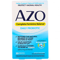 Complete Feminine Balance, Daily Probiotic, 30 Once Daily Capsules - фото