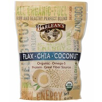 Raw Energy Flax-Chia-Coconut blend, 12oz pouch - фото