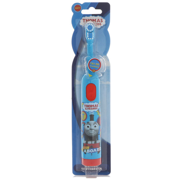 Thomas & Friends, Electric Toothbrush, Soft , 1 Toothbrush