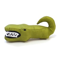 The Eco-Friendly Plush Toy, For Dogs, Aretha the Alligator, 1 Toy - фото