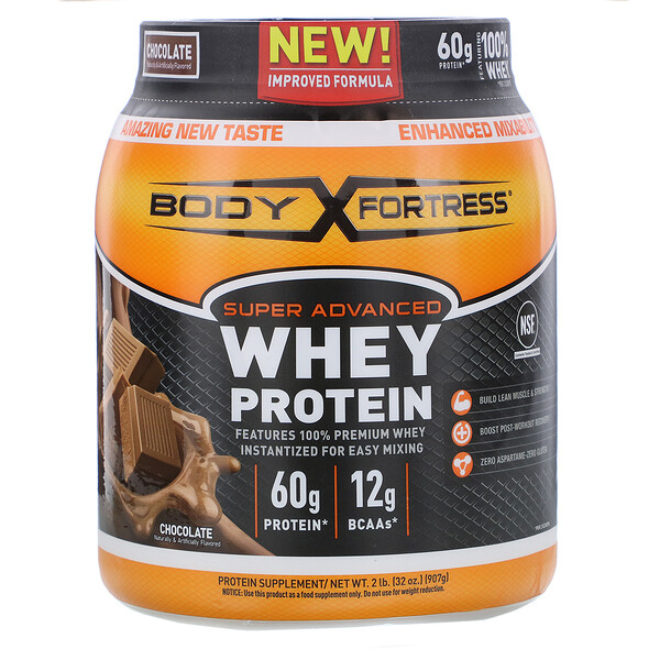 Super Advanced Whey Protein, Chocolate, 2 lb (907 g)