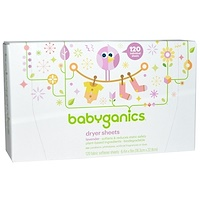 Loads of Love, Dryer Sheets, Baby Fresh Scent, 120 Sheets, 9 in x 6.4 in Each - фото