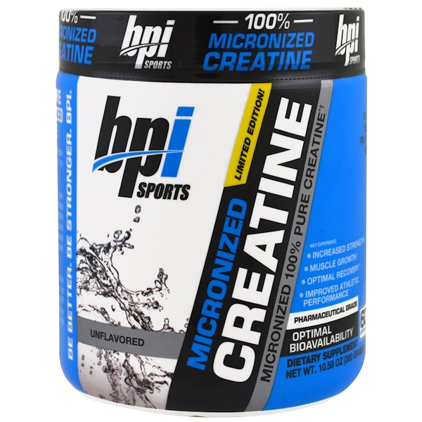 Micronized Creatine, Limited Edition, Unflavored, 10.58 oz (300 g)