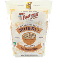 Muesli, Old Country Style, Whole Grain, 40 oz (1.13 kg) - фото