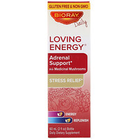 Loving Energy, Adrenal Support with Medical Mushrooms, Alcohol Free, 2 fl oz (60 ml) - фото