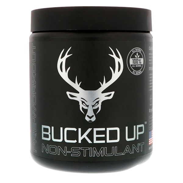 Bucked Up, Pre-Workout, Raspberry Lime Ricky, Non-Stimulant, 11.36 oz (322 g) (Discontinued Item)