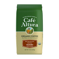 Organic Coffee, Colombia, Dark Roast, Whole Bean, 10 oz (283 g) - фото