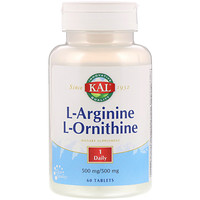L-Arginine L-Ornithine, 60 Tablets - фото