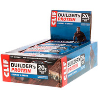 Builder's Protein Bar, Cookies N' Cream, 12 Bars, 2.40 oz (68 g) Each - фото