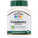 Cranberry Extract, Standardized, 60 Vegetarian Capsules - изображение
