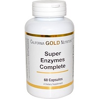 Super Enzymes Complete, 60 капсул - фото