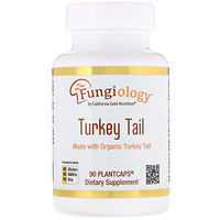 Fungiology, Full-Spectrum Turkey Tail, 90 Planetcaps - фото