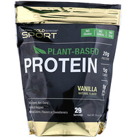Vanilla Flavor Plant-Based Protein, Vegan, Easy to Digest, 2 lb (907 g) - фото