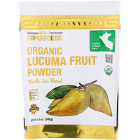 Superfoods, Organic Lucuma Fruit Powder, 8.5 oz (240 g) - фото