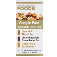 Sample Snack Bar Pack, 3 Bars, 1.4 oz (40 g) Each - фото