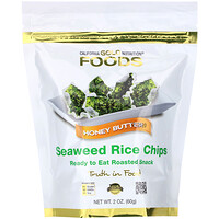 Seaweed Rice Chips, Honey Butter, 2 oz (60 g) - фото