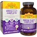 Ultra Concentrated Omega 3•6•9 Complete, Lemon Flavor, 180 Softgels - изображение