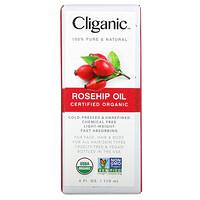 Organic Rosehip Oil,  4 fl oz (120 ml) - фото