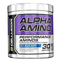 Alpha Amino, Icy Blue Razz, 13.54 oz (384 g) - фото