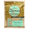 Chimes, Ginger Chews, Peppermint, 5 oz.