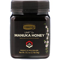 Manuka Honey, UMF 5+, 35.2 oz (1 kg) - фото