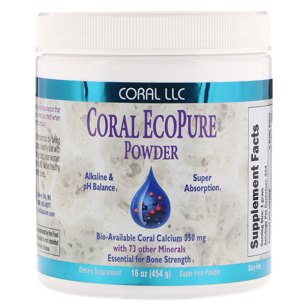 CORAL LLC, Coral EcoPure Powder, 16 oz (454 g) (Discontinued Item)