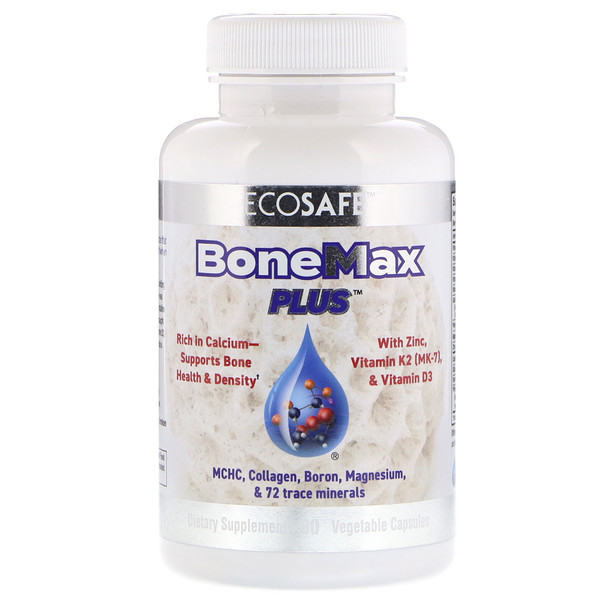 CORAL LLC, BoneMax Plus, 90 Vegetable Capsules (Discontinued Item)