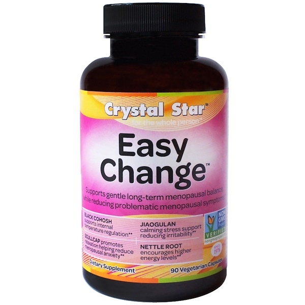 Crystal Star, Easy Change, 90 вегетарианских капсул (Discontinued Item)
