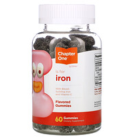 I Is for Iron, Flavored Gummies, 60 Gummies - фото