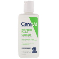 Hydrating Facial Cleanser, For Normal to Dry Skin, 3 fl oz (87 ml) - фото