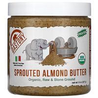 Organic Sprouted Almond Butter, 8 oz (227 g) - фото