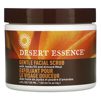 Gentle Facial Scrub with Jojoba Oil and Almond Meal, 4 fl oz (120 ml) - фото